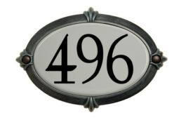 Plaque Adresse Snoc 1723