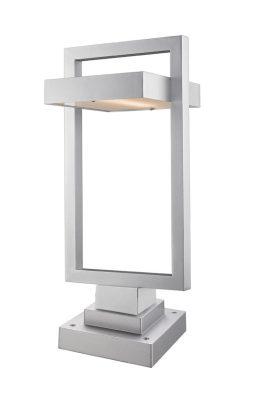 Lampe Piédestal Extérieure – Luttrel – Z-Lite – 566PHBS-SQPM-SL-LED