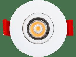 ADLED2S5W3CTTWHENCASTRE 2″ LED, ROND BLANC CHAUD DE TYPE IC,  SERIE 1-27,