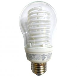Ampoule Fluocompacte A19 TCP E26/8W/4100K 8A08CL4100K