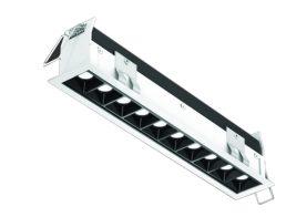 Luminaire Encastré MSL10-3K-WH