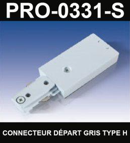 Connecteur De Départ De Type HaloCouleur ArgentSérie 1-66