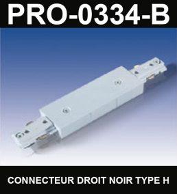 Union De Rail De Type HaloCouleur NoirSérie 1-66