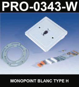 Monopoint De Type HaloCouleur BlancSérie 1-66