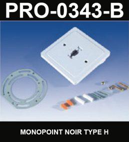 Monopoint De Type HaloCouleur NoirSérie 1-66