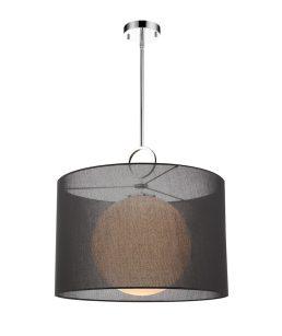 Luminaire Suspendu AROSIA 194-24BK-C