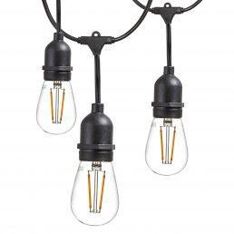 Guirlande D'éclairage à DEL48′ Avec 24 Ampoule DEL IncluseLPX-S14-24 48′