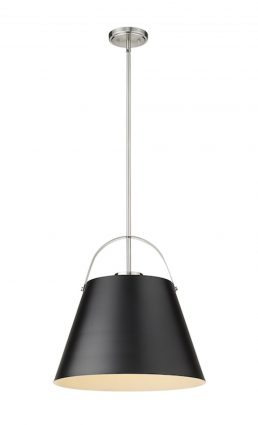 Luminaire Suspendu Z-STUDIO 726P18-MB-BN