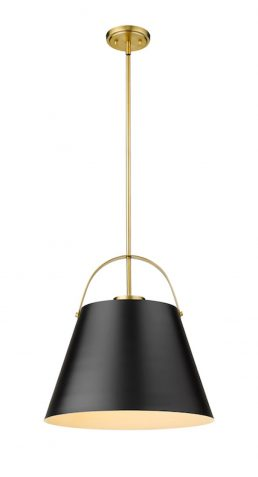 Luminaire Suspendu Z-STUDIO 726P18-MB-HBR