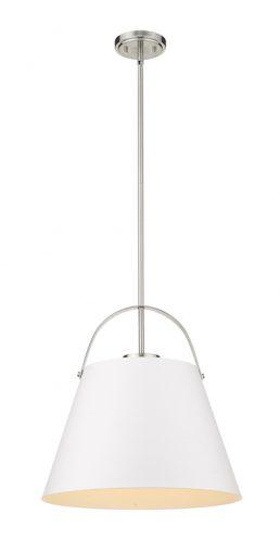 Luminaire Suspendu Z-STUDIO 726P18-MW-BN