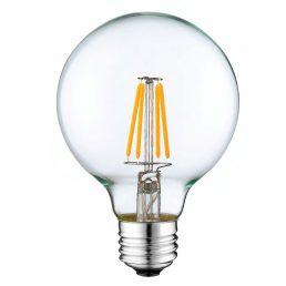 Ampoule De Forme BouleDEL Filament 4w E26 Idéal Pour Les Hotels. DEL De Longue Durée Graduable