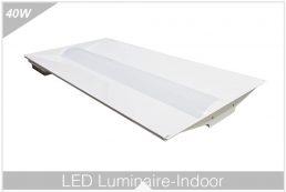 Encastré Panneau Indirect 2'x4′ Série 1-12graduable En 0-10 Volts BL-TF-24-40W-840D