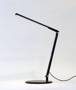 Lampe De Bureau Z-Bar Mini Solo Noir, Base Standard Blanc Dou 3500K