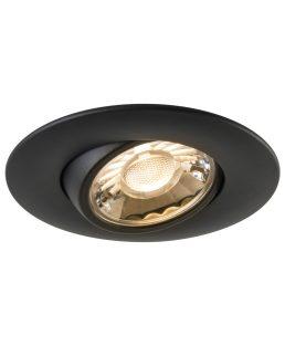 Encastré De Plafond -Eyeball 7.5W CRI80 600LM -afr3g-7-5-40k-bk