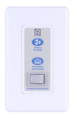Contrôleur De Ventilateur – Canarm – RREM-DCQ014-W
