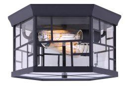 Plafonnier Extérieur – Chantry – Canarm – IOL350BK