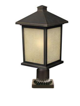 Lampe Piédestal Extérieure – Holbrook – Z-Lite – 507PHB-ORB-PM