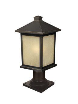 Lampe Piédestal Extérieure – Holbrook – Z-Lite – 507PHM-533PM-ORB