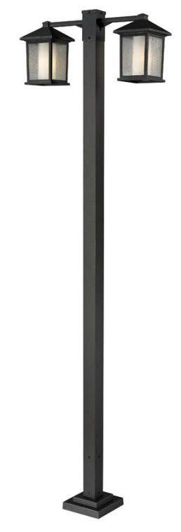 Luminaire Sur Poteau – Mesa – Z-Lite – 524-2-536P-ORB