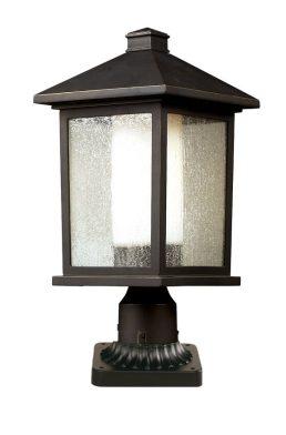 Lampe Piédestal Extérieure – Mesa – Z-Lite – 524PHB-PM