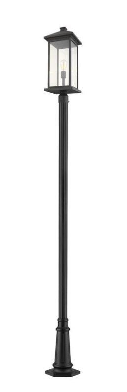 Luminaire Sur Poteau – Portland – Z-Lite – 531PHBXLR-557P-BK