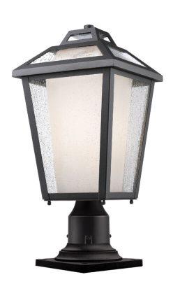 Lampe Piédestal Extérieure – Memphis Outdoor – Z-Lite – 532PHMR-533PM-BK