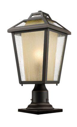 Lampe Piédestal Extérieure – Memphis Outdoor – Z-Lite – 532PHMR-533PM-ORB