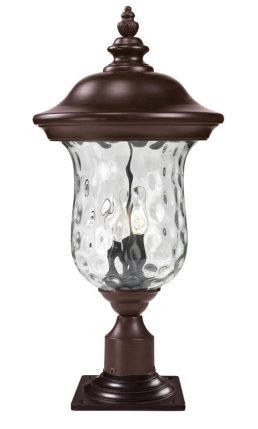 Lampe Piédestal Extérieure – Armstrong – Z-Lite – 533PHB-533PM-RBRZ