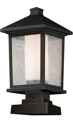 Lampe Piédestal Extérieure – Mesa – Z-Lite – 538PHB-SQPM-ORB