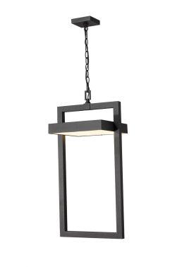 Suspendu Extérieur – Luttrel – Z-Lite – 566CHXL-BK-LED