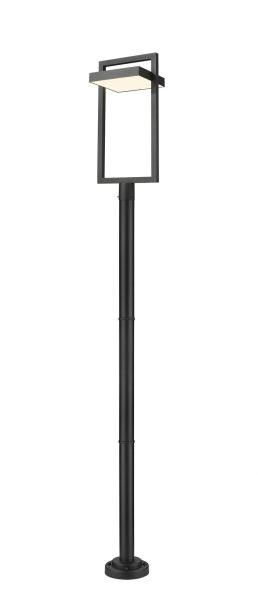 Luminaire Sur Poteau – Luttrel – Z-Lite – 566PHXLR-567P-BK-LED