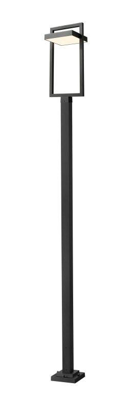 Luminaire Sur Poteau – Luttrel – Z-Lite – 566PHXLS-536P-BK-LED