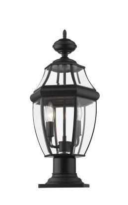 Lampe Piédestal Extérieure – Westover – Z-Lite – 580PHM-533PM-BK