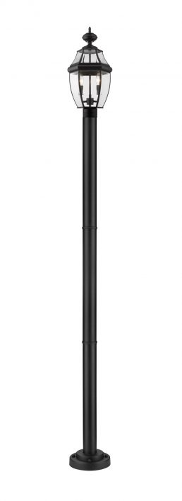 Luminaire Sur Poteau – Westover – Z-Lite – 580PHM-567P-BK