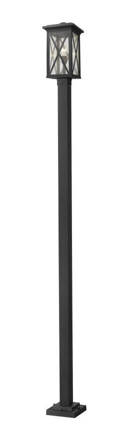 Luminaire Sur Poteau – Brookside – Z-Lite – 583PHBS-536P-BK