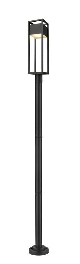 Luminaire Sur Poteau – Barwick – Z-Lite – 585PHBR-567P-BK-LED