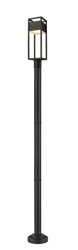 Luminaire Sur Poteau – Barwick – Z-Lite – 585PHMR-567P-BK-LED