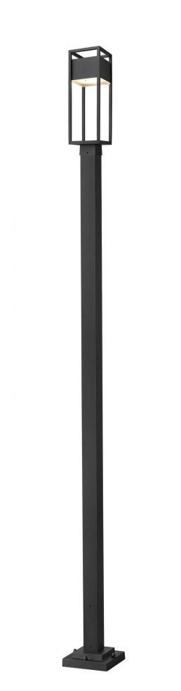 Luminaire Sur Poteau – Barwick – Z-Lite – 585PHMS-536P-BK-LED