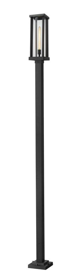 Luminaire Sur Poteau – Glenwood – Z-Lite – 586PHBS-536P-BK