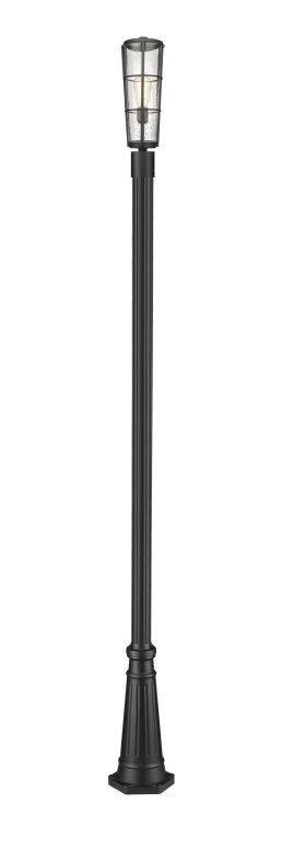 Luminaire Sur Poteau – Helix – Z-Lite – 591PHB-519P-BK