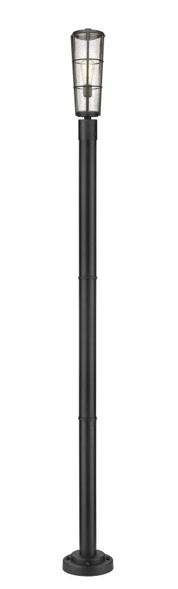 Luminaire Sur Poteau – Helix – Z-Lite – 591PHB-567P-BK