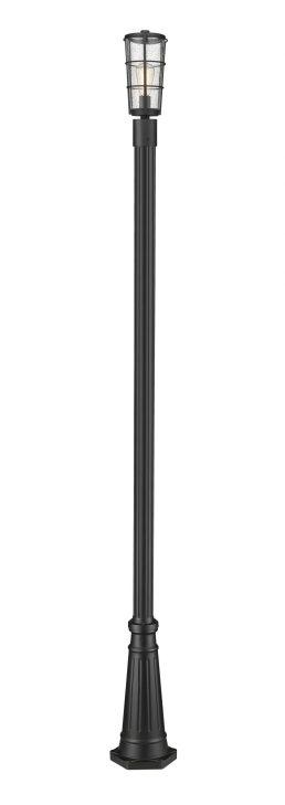 Luminaire Sur Poteau – Helix – Z-Lite – 591PHM-519P-BK